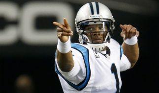 Cam Newton und die Carolina Panthers mussten im Super Bowl eine Niederlage gegen die Denver Broncos hinnehmen. (Foto)