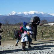 Schleuser ließen sie im Stich: Frau und Kind auf der Flucht erfroren (Foto)