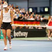 Aus im Viertelfinale! Kerber und Co. verlieren gegen die Schweiz (Foto)