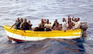 Beim Untergang zweier Flüchtlingsboote sind mindestens 35 Menschen gestorben (Symbolbild). (Foto)