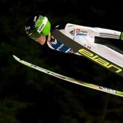 Deutsche Skispringer ohne Podestplatz - Slowene Prevc siegt (Foto)
