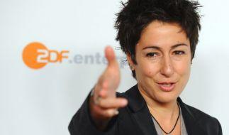 Ein Facebook-Nutzer darf die ZDF-Moderatorin Dunja Hayali auf ihrer Facebook-Seite nicht mehr beleidigen. (Foto)