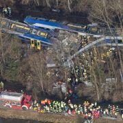 Zugunglück in Bad Aibling: Menschliches Versagen offenbar Ursache (Foto)