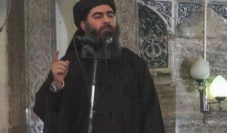 """Der selbsternannte Kalif des """"Islamischen Staates"""": Abu Bakr al-Baghdadi. (Foto)"""