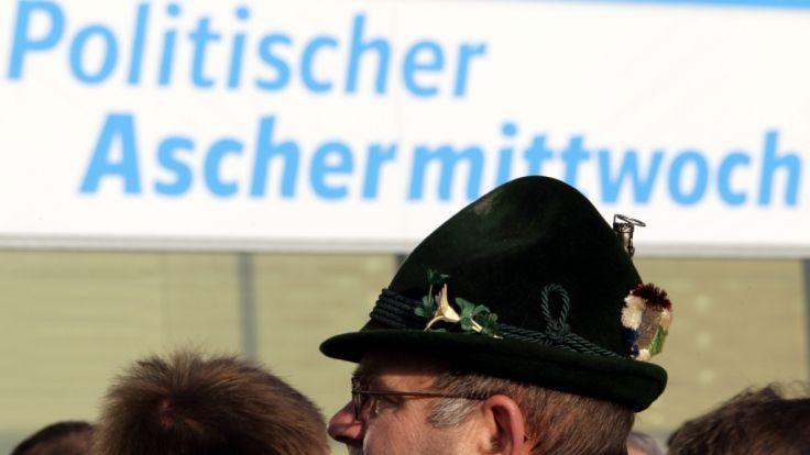 Politischer Aschermittwoch in Bayern fällt aus. (Foto)
