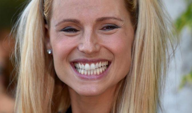 Michelle Hunziker gilt gemeinhin als absolut fröhlicher Mensch. (Foto)