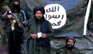 """Die CIA hat bestätigt, dass der """"Islamische Staat"""" an Chemiewaffen arbeitet. Hier zu sehen ist Hafiz Said Khan, Anführer eines Ablegers der Terrormiliz in Pakistan und Afghanistan. (Foto)"""