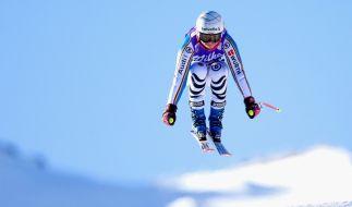 Viktoria Rebensburg beim Training vor dem Weltcup in Zauchensee. (Foto)
