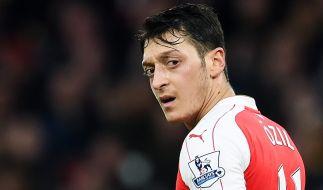 Weltmeister Mesut Özil als Tor-Vorbereiter heiß begehrt. (Foto)