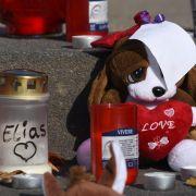 Mutmaßlicher Mörder von Elias schickte Trauerkarte an Mutter (Foto)