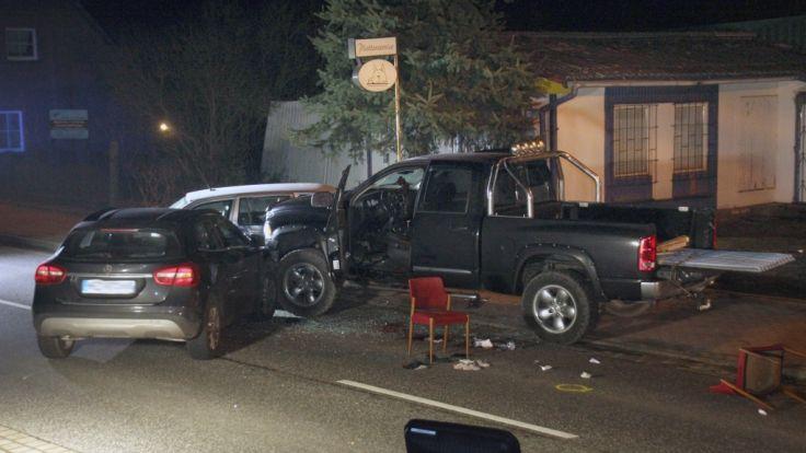 Nach einem Polizeieinsatz am 12.02.2016 in Lutheran wurde ein Mann durch einen Schuss lebensgefährlich am Kopf verletzt. (Foto)