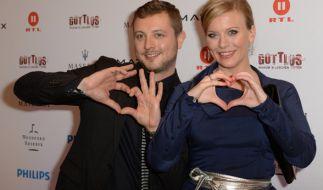 Am Sonntag feiern auch die Stars den Valentinstag. Im Bild: Eva Habermann und Armin Barwich. (Foto)
