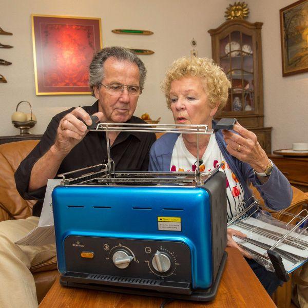 Von Steak-Toastern undSelbstbräunungsduschen - Was taugen die neuen Produkte? (Foto)