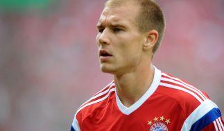 Dieser Mann wird das Pech nicht los. Bayern-Verteidiger Holger Badstuber hat sich im Training schwer verletzt. (Foto)