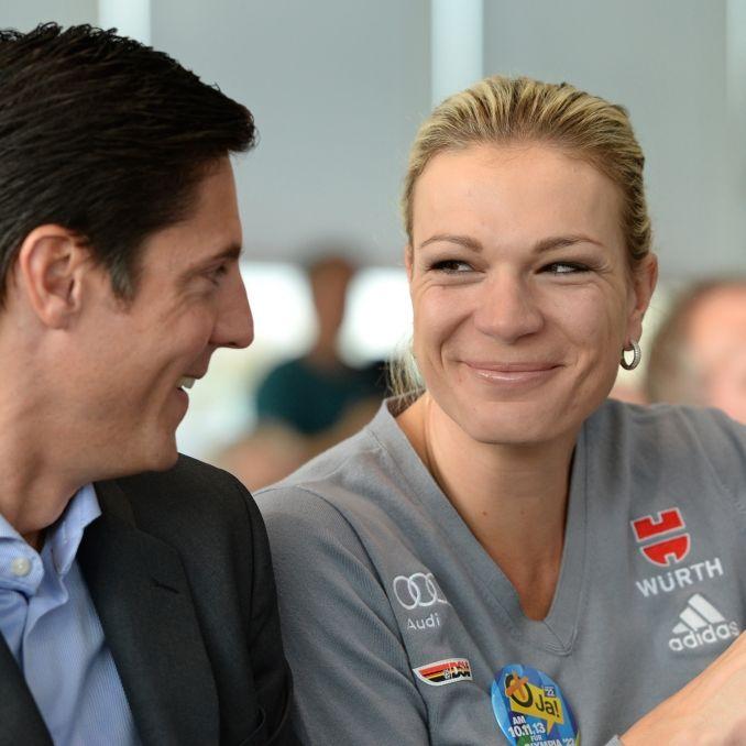 Maria Höfl-Riesch: Nach der Sport-Karriere kommen die Kinder (Foto)