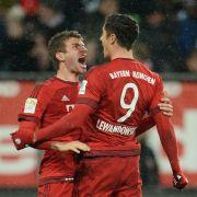 3:1-Sieg gegen Augsburg! Die Bayern können eben auch ohne Abwehr (Foto)