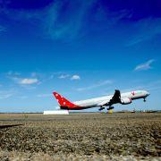 Laserpointer zwingt Flugzeug zur Umkehr (Foto)