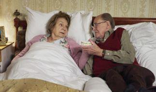 Seit 50 Jahren ist Christel mit ihrem geliebten Mann Fritz (Herbert Köfer) verheiratet. (Foto)