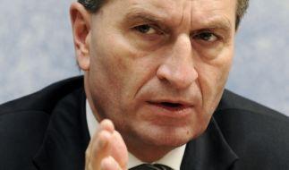 Günther Oettinger hat deutlich gemacht, was er von Frauke Petry hält. (Foto)