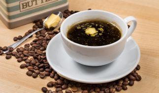 Butter im Kaffee? Der Morgentrunk soll ein wahrer Energiespender sein! (Foto)