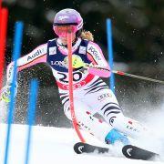 Maria Höfl-Riesch galt als Allrounderin im Skisport. Die meisten Goldmedaillen erzielte sie aber im Abfahrtslauf.