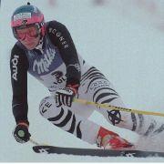 Katja Seizinger erzielte insgesamt 36 Weltcupsiege, die meistens davon in den Disziplinen Abfahrtslauf und Super-G.