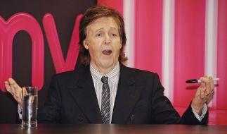 Nicht mehr hip genug für Grammy-Partys: Ex-Beatle Paul McCartney. (Foto)