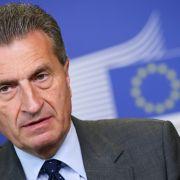 """Günther Oettinger: """"Frauke Petry ist eine Schande für Deutschland"""" (Foto)"""