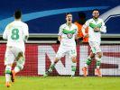 Wolfsburg gewinnt gegen Gent mit 3:2