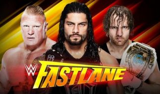 Lesnar, Reigns, Ambrose (v.l.n.r.): Wer setzt sich im Main Event durch? (Foto)