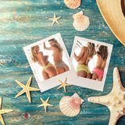 """Victoria's Secret""-Engel POsieren halbnackt am Strand (Foto)"