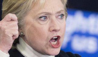 Hillary Clinton konnte sich bei der Vorwahl in Nevada gegen Bernie Sanders durchsetzen. (Foto)