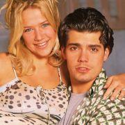 Katja Wettstein in trauter Zweisamkeit mit ihrem Serienfreund Leon Moreno.