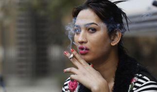 Transgender in Neu Dheli, Indien. (Foto)