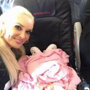 Sophias erster großer Flug? Hier ging´s ersteinmal nur nach München.