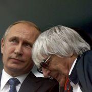 Wladimir Putin und Bernie Ecclestone: Ziemlich beste Freunde? (Foto)