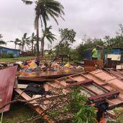 Mindestens 42 Tote auf den Fidschi-Inseln (Foto)