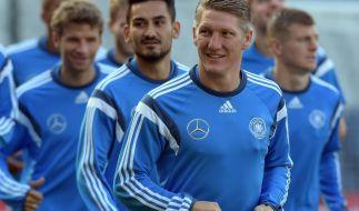 """Hat """"0,00 Prozent"""" Sorgen, was seine Chance für eine EM-Teilnahme anbelangt: Nationalmannschaftskapitän Bastian Schweinsteiger. (Foto)"""