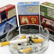 Schockfotos auf Zigarettenschachteln ab Mai (Foto)