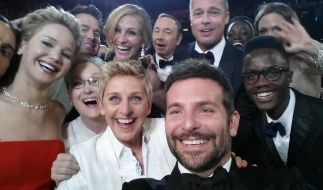 Dieses Oscar-Selfie schrieb Geschichte! (Foto)
