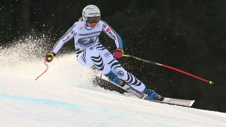 Kann Viktoria Rebensburg ihre Position auch in den kommenden Rennen behaupten? (Foto)