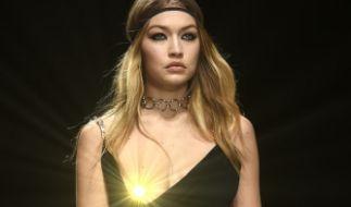 Gigi Hadid auf der Fashion Week Mailand. (Foto)