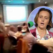 Sahne gegen AfD! Beatrix von Storch bekommt Torte ins Gesicht (Foto)