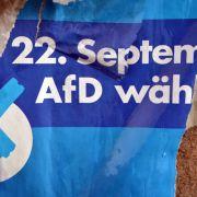22. September 2013: Die AfD scheitert bei der Bundestagswahl 2013 mit einem Wahlergebnis von 4,7 Prozent nur knapp an der 5-Prozent-Hürde.