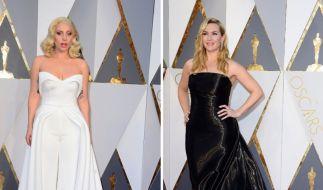 Lady Gaga (links) und Kate Winslet. (Foto)