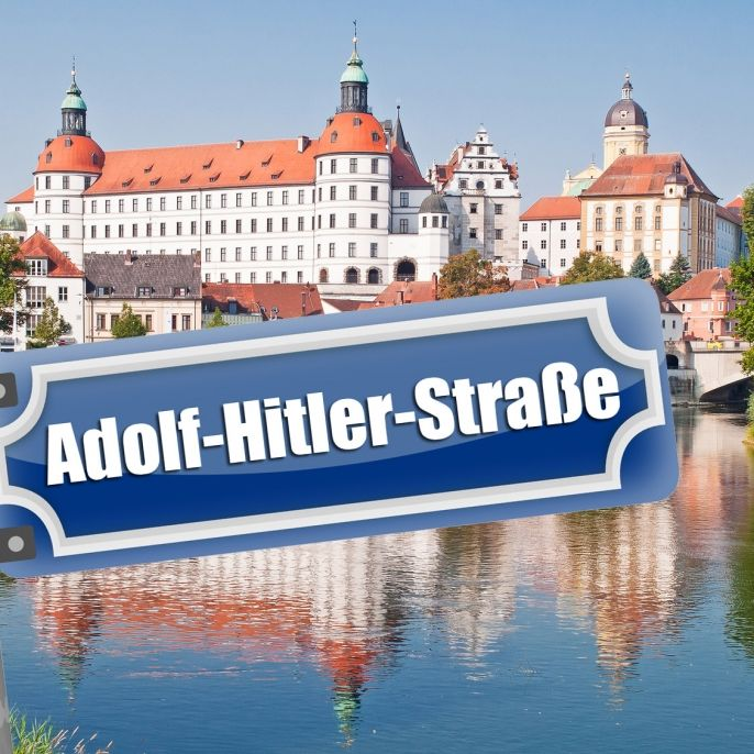 Fataler Fehler! In dieser Stadt gibt es die Adolf-Hitler-Straße (Foto)