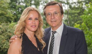 Seit über 18 Jahren glücklich: Katja Burkard und Mann Hans Mahr. (Foto)