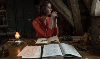 Anne Frank und ihr berühmtes Tagebuch. (Foto)