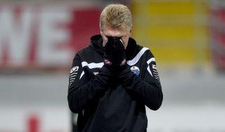 Der SC Paderborn hat Trainer Stefan Effenberg entlassen. (Foto)