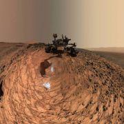 Ufo-Jäger sind sicher: Marsfoto zeigt Kruzifix! (Foto)